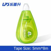 Stationery Plastic Decorative Correction Tape Water Drop Shape No T-90214
