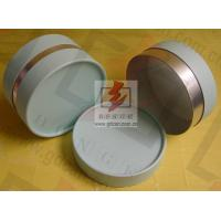Small Composite Paper Cans Packaging UV Coating with Ribbon