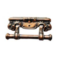 Wholesale Antique brass finish zamak metal coffin accessories handle H014 from china suppliers