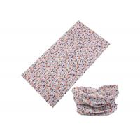 Wholesale Small Floral Pattern UV Buff Headwear 25 * 50 CM Good Flexibility For Skate from china suppliers