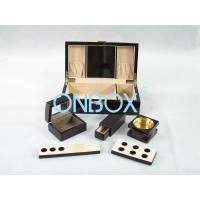Quality Painted Wooden Boxes Packaging For Aromer Burner Set , Women Perfume Gift Sets for sale