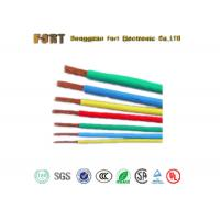Moisture Proof PTFE Insulated Wire 40KV Rated Voltage With Silver Plated Copper Conductor