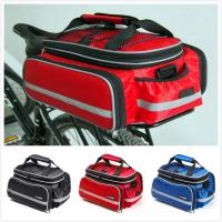 Rear Rack Bike Trunk Bag Double Side , Hand Luggage BagsFor Short Trip Vehicle Carrying