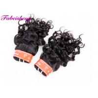 Soft Smooth Italian Wave Virgin Indian Hair Extensions No Chemical Processed