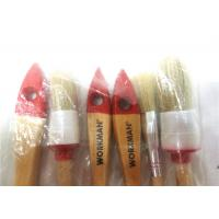 Wholesale Custom Bristle Flat / Round Paint Brush Sets , Natural Hair Paint Brushes from china suppliers