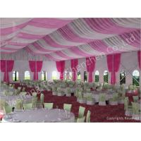 Buy 300 People Luxury Wedding Tents Rentals Aluminium Frame Marquee With Transparent PVC Windows at wholesale prices