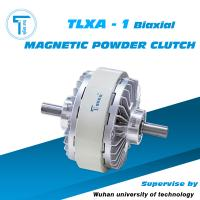 Wholesale high speed TLXA-1 biaxial magnetic powder clutch for printing machine from china suppliers