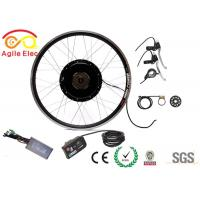 Beautiful Design Road Bike Motor Kit , Motorized Bicycle Kit With Twist / Thumb Throttle