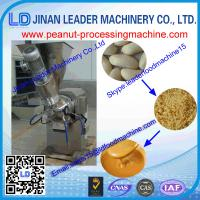 Wholesale high capacity stainless steel peanut butter grinder machine for grinding groundnuts from china suppliers