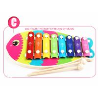 Wholesale Wooden Colorful Fish Knocking Music Toys from china suppliers