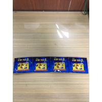Quality Blue Aluminium Foil Packaging Bags Glossy Colorful Printing Three Side Seal Foil Toys Bag for sale