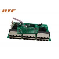 24 Port Unmanaged Ethernet Switch Module 10 100 1000Mbps OEM / ODM
