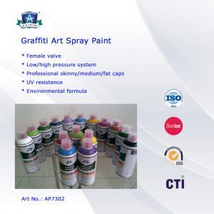 Multi Colors 400ml Art Graffiti Spray Paint For Wall / House Decoration