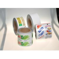 Wholesale ABL PBL APT Toothpaste Printed Laminated Web With Customized Width from china suppliers