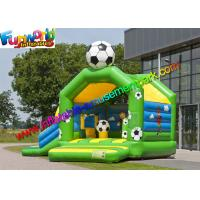 Wholesale FIFA World Cup Inflatable Kids Bouncer Slide , Jumping Castle for Football Fan from china suppliers