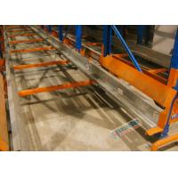 Quality Heavy Load Radio Shuttle Racking , Pallet Shuttle Racking Battery Powered for sale