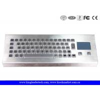 Wholesale 64 Keys Industrial Desktop Keyboard , Metal Keyboard With Touchpad from china suppliers