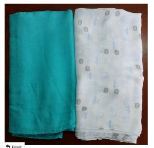 100% Organic Cotton Swaddle Blanket,Gauze Diapers,Baby Muslin
