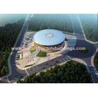 Quality Long Span Construction Steel Frame , Pre Engineered Metal Building Systems for sale