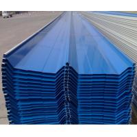 High Rib Angle Chi Corrugated Steel Sheet Easy Installed Without Bolts
