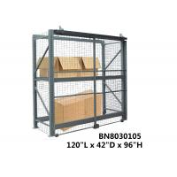 Durable Teardrop Pallet Rack Security Enclosure Pallet Storage Cage OSHA Standard