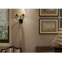 Eco - friendly Embossed Vinyl Home Decorating Wallpaper For Living Room