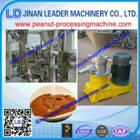 Wholesale high quality automatic peanut grinding machine/peanut butter making machine good price from china suppliers