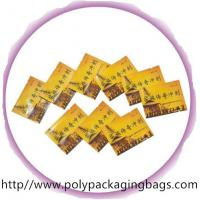 Quality Disposable Herbal Tea Aluminium Foil Bag with Colorful Printing for sale