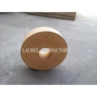 Quality Round Fire Clay Brick with Good Thermal Shock Resistance for Pizza Oven for sale