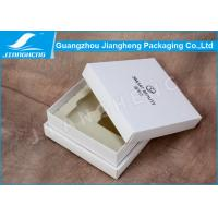 Quality Handmade Luxury Cosmetic Packaging Boxes / Storage Box With White EVA Insert for sale