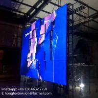 Quality 360 degree rotating led screen, LED Video Wall/Giant