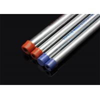 Quality ISO BS4568 Conduit Hot Dip Galvansized Conduit Pipe with screwed ends and caps for sale
