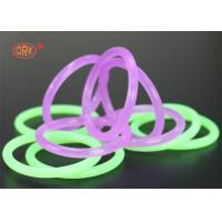 Quality FDA Colored Rubber Clear Silicone O Ring Metric O Rings AS568 Standard for sale