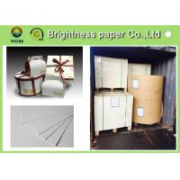 190g ~ 400g Ivory Board Paper With 2 Side White Laminated Cardboard
