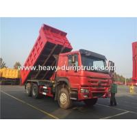 Sinotruk Howo 371 Hp Tipper Heavy Load Truck For Bad Road Condition And Overloading