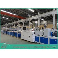 Quality High Output Pvc Profile Extrusion Line , Pvc Door Manufacturing Machine SJSZ-80/156 for sale