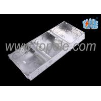 Buy Electrical Metallic Ceiling Outlet Box Covers 1 + 1 + 1 Gang Conduit at wholesale prices