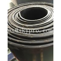Quality Textile fiber reinforced rubber sheeting roll High tensile strength and wear resistance for sale