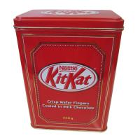 Quality Custom Printed Metal Tin Containers / Rectangular Tin Can For Package for sale