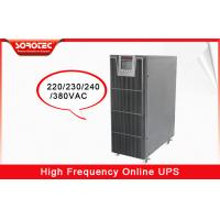 Buy cheap Reliable 3 - Phase Smart Online Electrical UPS for Industry , Digital Control from wholesalers