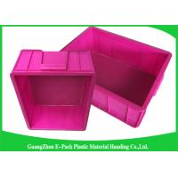 Quality Top Plastic Solid Euro Stacking Containers Reusable For Fruit And Vegetable for sale