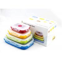 Quality Leak Proof Silicone Storage Containers Large Volume Easily Wash / Store for sale