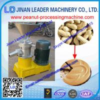 Wholesale long work time 1000-1500 kg/h Peanut butter machine for making garlic chili peanut butter from china suppliers