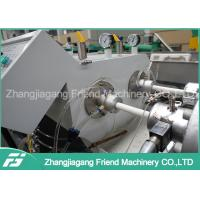 Quality PLC Control Electric Pvc Pipe Making Machine , Pipe Extrusion Equipment for sale