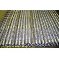 Wholesale 1/4''-12'' Spiral Welded Louvered Perforated Metal Tubing For Filter Frame from china suppliers