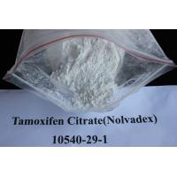 Oral Anti Estrogen Tamoxifen Citrate / Nolvadex Cancer Treatment Steroids CAS 10540-29-1