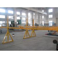 Quality Lifting Suspension Mechanism Suspended Work Platform With Dipping Zinc / Painted Steel Material for sale