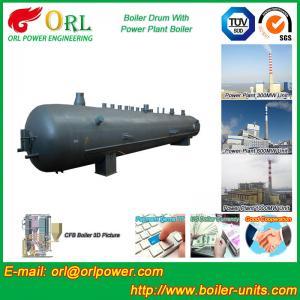 Heat preservation biomass boiler mud drum ORL Power ASME certification manufacturer