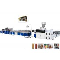 Quality TPU / TPR / TPE PVC Plastic Profile Making Machine For Ceiling and Decking for sale