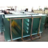 Buy Tempered Safety Glass Street Furniture with White Ceramic Printing safety glass panels at wholesale prices